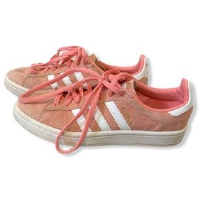Adidas Pink Campus runners